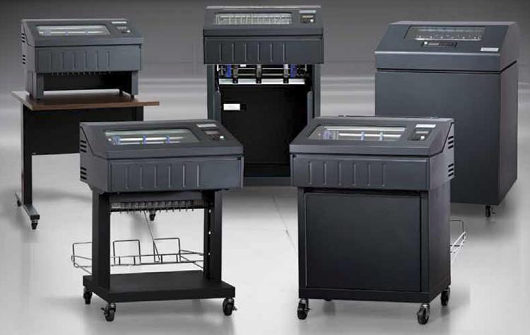 TallyGenicom 6800 line printers